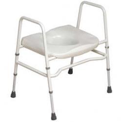 Mowbray Toilet Seat & Frame - Extra Wide