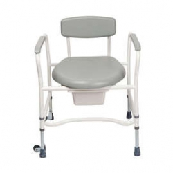 Commode Fixed Arms