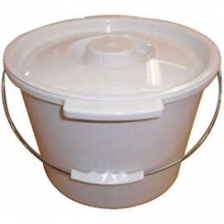 Commode Pan for Height Adjustable Toilet Frame with Seat