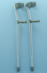 Pair of Forearm Crutches