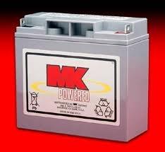 1 Pair MK SLA 12 Volt 18Amp/Hour Batteries