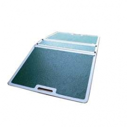 Fibreglass Folding Threshold Ramp